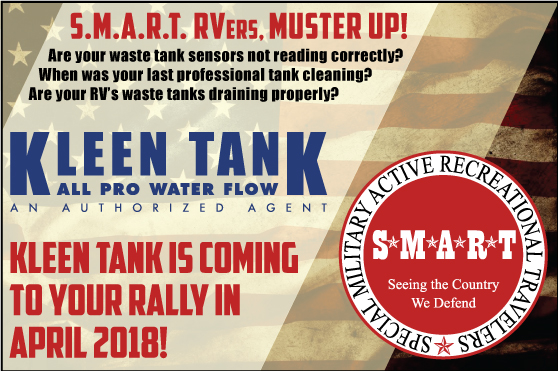 Kleen Tank is getting S.M.A.R.T. in 2018